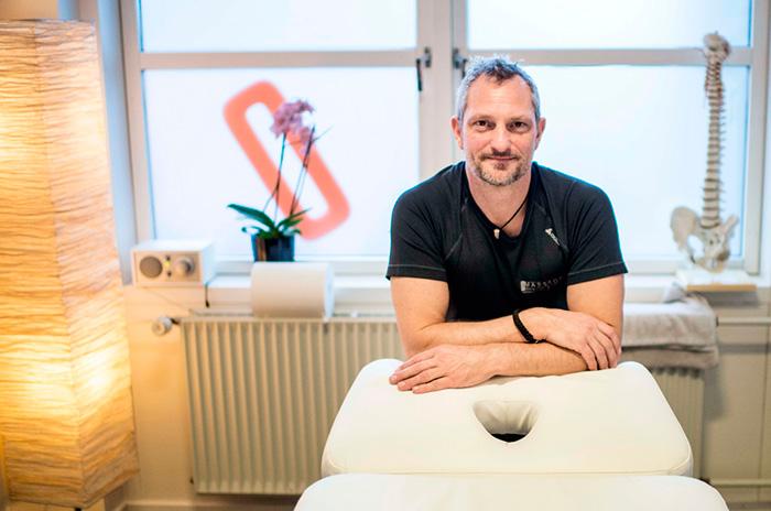 Jesper Rask i klinikken i SOLO Fitness